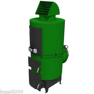 TABI 30kW Multi Fuel Wood Pellet Space Air Heater no water ...