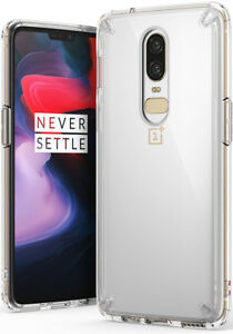 66617c7010 OnePlus 6 Case, Ringke [Fusion] Crystal Clear PC Back TPU Bumper ...