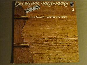 Georges Brassens 2 Les Amoureux Des Bancs Publics Lp Philips French