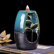 Keramik Rückfluss Wasserfall Rauchmelder Räuchergefäß Halter Geschenk Wohndeko