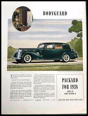 1938 Packard 12 Automobile Vintage Advertisement Print Art ...