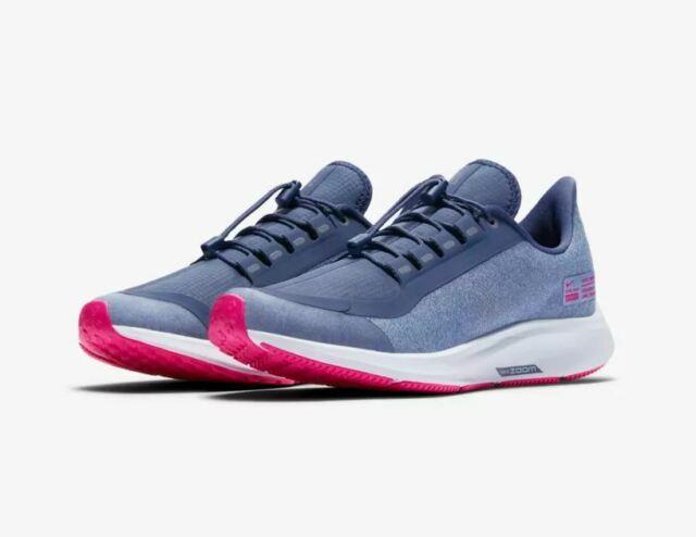 Nike Air Zoom Pegasus 35 Shield, Wasserabweisend Sneaker Kids, Laufschuh Gr 35,5