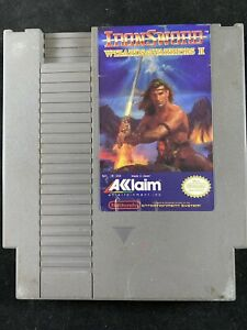 IronSword-Wizards-amp-Warriors-II-Nintendo-Entertainment-System-1989-Cartridge