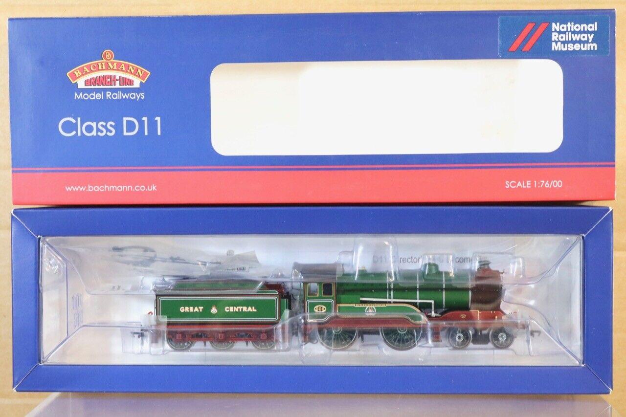 Bachmann 31-145nrm Grand Central 4-4-0 class d11 loco 506 Butler Henderson ns