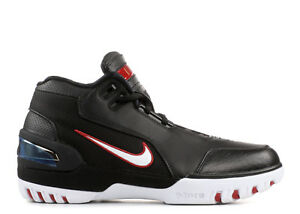 timeless design 3b6bf 7ae3d Image is loading 2017-Nike-Air-Zoom-Generation-QS-LeBron-Black-