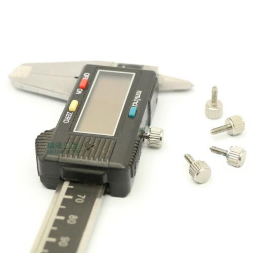 M2.5x7.5mm Stainless Steel 303 Manual Adjustment Screws Knurled Hand Twist Bolt