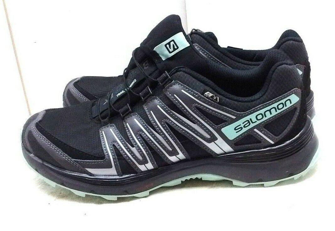hasta un 65% de descuento Salomon XA Malla Negra Con Cordones Zapatillas Deportivas Deportivas Deportivas Trail Running Zapato de la mujer 11M 44  envio rapido a ti