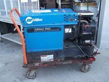 Miller Trailblazer 250g Miller Weldergenerator 250a 4 On Heavyduty Cart