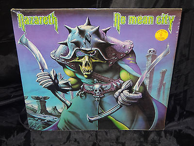 Nazareth No Mean City SEALED USA 1979 1ST PRESS VINYL LP