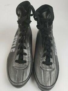 TITLE Gray men Boxing Shoes boots size 5.5