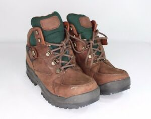 Leather Trail tec Outdoor New Comfortex Vintage Stivali Trail 5 8 Hi Uomo Marrone Ofx0qURw