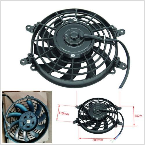Black 270mm High Performance Motorcycle ATV Radiator Cooling Fan Oil Cooler Fan