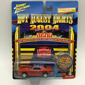 Johnny-Lightning-2004-Hot-August-Nights-Reno-69-Yenko-Camaro-Die-Cast-Car-Signed