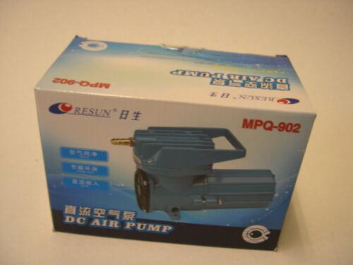 12V Batterie Transportbelüfter 2280 l//h Teichbelüfter Belüfter Fischhälterung