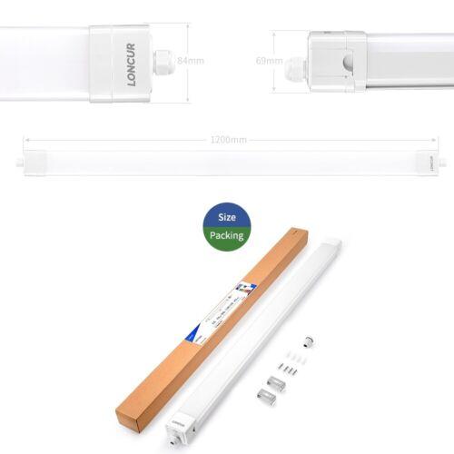 LED Feuchtraumleuchte 120//150cm 40//52W Garage Keller Werkstatt Decken Lampe IP66