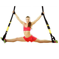 Upgraded Suspension Straps Body Trainer Home Gym Resistance Training Straps