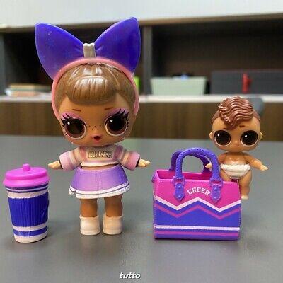 LOL Surprise Doll Cheer Sis & Lil Bro CheerLeader ...