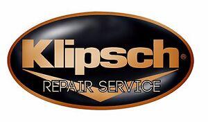 Details about Klipsch Amplifier Repair Service