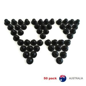 Chef-Jacket-Buttons-50-X-NEW-Black-Chefs-Stud-Button-Replacement-Set-Fifty-Pack
