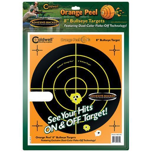 Caldwell 805645 Orange Peel Bullseye Shooting Target
