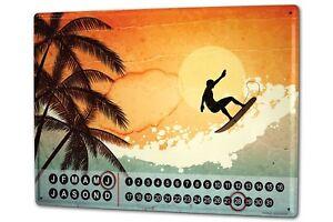 Calendario-perpetuo-Diversion-Riders-de-surf-Metal-Imantado