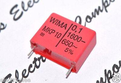 0,1µF 100nF WIMA MKP10 0.1uF 4pcs 630V 5/% pitch:22.5mm Capacitor
