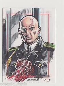 SGT-FURY-amp-HIS-HOWLING-COMMANDOS-TRADING-CARDS-SKETCHAFEX-CARD-DARRYL-BANKS