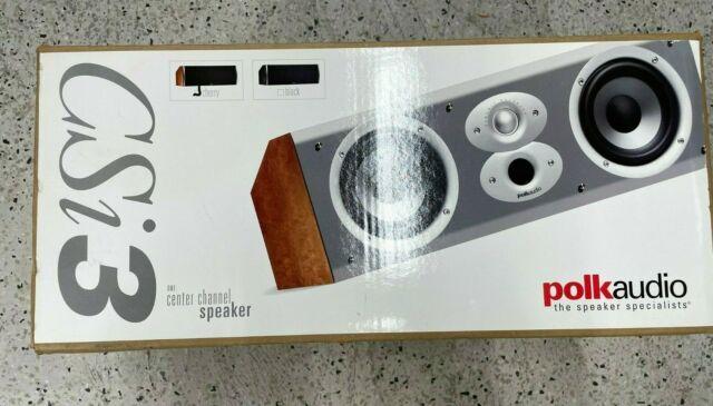 Polk Audio CSi 3 Center Channel Speaker  (Cherry)  AM3112-A  NEW IN SEALED BOX