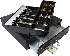 Cash Register Drawer For Point Of Sale Pos System With Fully Removable 2 Tier 5
