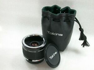 RMC-Tokina-2X-Teleconverter-Doubler-For-Olympus-OM-System-Case-No-8303014