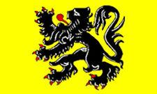 FLANDERS FLAG 5' x 3' Belgium Belgian Flemish Lion Flags