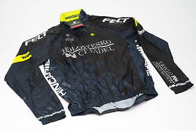 Men/'s 2017 Hincapie Racing Team Element Cycling Leg Warmers Black Size M EUC