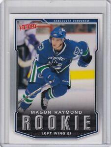 MASON RAYMOND ROOKIE Card RC 2007 2008 UPPER DECK VICTORY NHL #322 CANUCKS