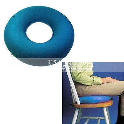 New Blue Medical Hemorrhoid Ring Round Inflatable Vinyl