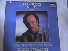 LEO NUCCI VERDI ARIAS LONDON DIGITAL N/M LP # 410159-1 NATIONAL PHILHARMONIC