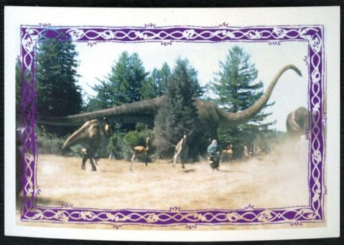 C1248 Apatosaurus #64 Jurassic Park The Lost World 1997 Merlin Sticker