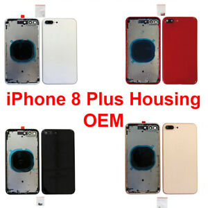 New-Replacement-Back-Housing-Frame-Battery-Door-Cover-Fits-Apple-iPhone-8-Plus