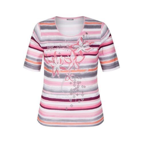 RABE raffiné T-shirt Femmes Avec Imprimé Fleurs Pression
