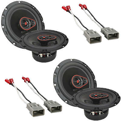 Cerwin Vega 6.5 Car Speakers W// Connector Adapter for Select 1984-2013 Vehicles