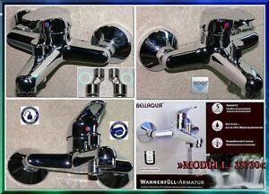 BELLAQUA-Eco-Click-Einhebelmischer-Wannenfuellarmatur-Wasserkran-Wannenarmatur-L1