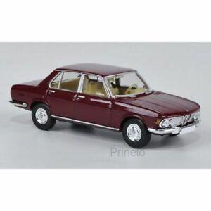 BREKINA-13600-1-87-HO-BMW-2500-ROUGE-FONCE-VOITURE-MINIATURE-H0