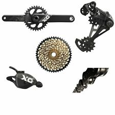 Sram X01 Eagle Group Shifter, Derailleur, Chain, Cranks 175mm GXP XX1 Cassette
