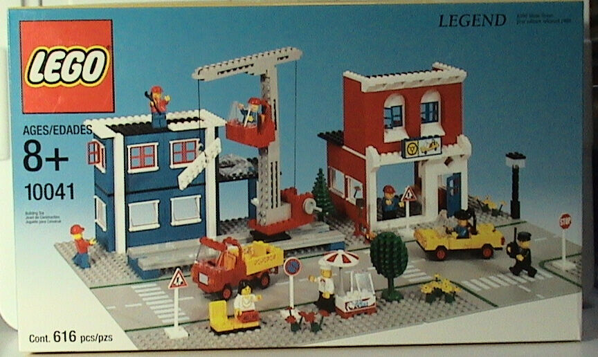 Lego Town CLASSIC Town Legends 10041 Main Street (Reissue)  New Sealed