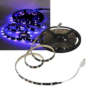 1m-SMD-Tira-LED-034-cls-100uv-034-UV-12v-luz-Rayas-Barra-Tira-Luz-Negra