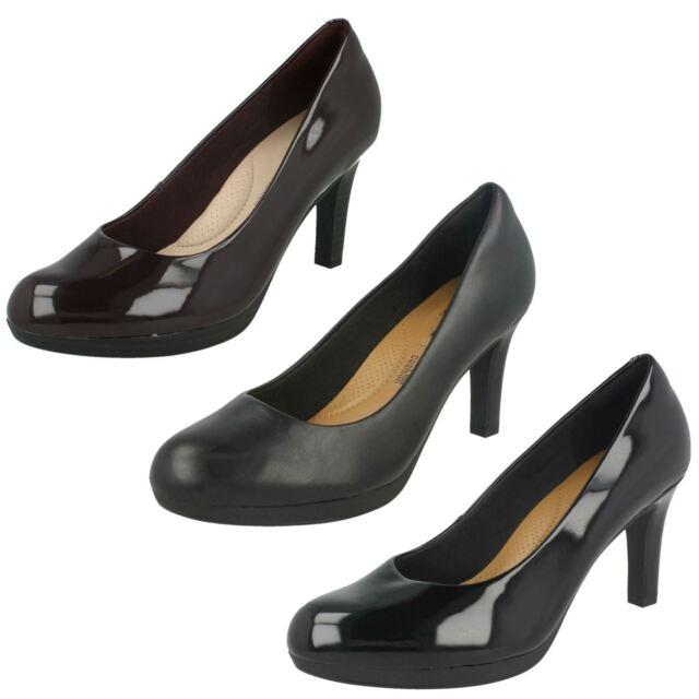 Clarks Ladies Court Shoes 'Adriel Viola'