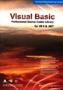 Details about Visual Basic Professional Source Code Library for VB 6 &  NET  Brand New Sealed