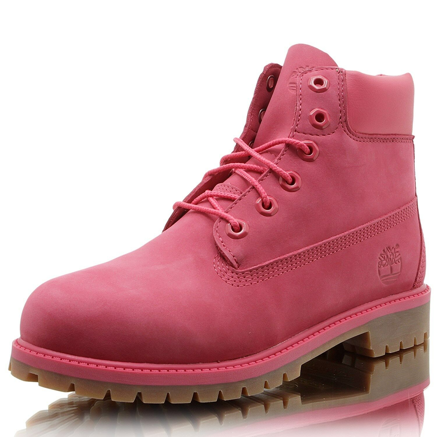 TIMBERLAND 6IN Prem WP Stiefel Stiefel Stiefel Rosa rot    64a0f1