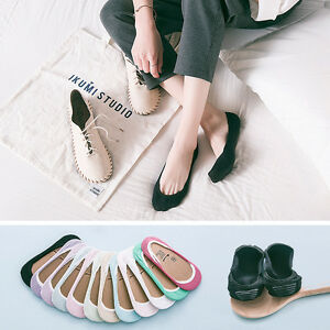 1-Pairs-Men-Women-Cotton-Ankle-Invisible-Loafer-Boat-Liner-Low-Cut-No-Show-Socks