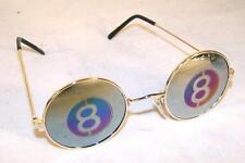 MIRROR REFLECTION 8 BALL SUNGLASSES sun245  fun unisex glasses pool hall billard