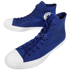 Converse-Chuck-Taylor-All-Star-II-2-Lunarlon-Blue-White-Men-Shoe-Sneaker-150146C